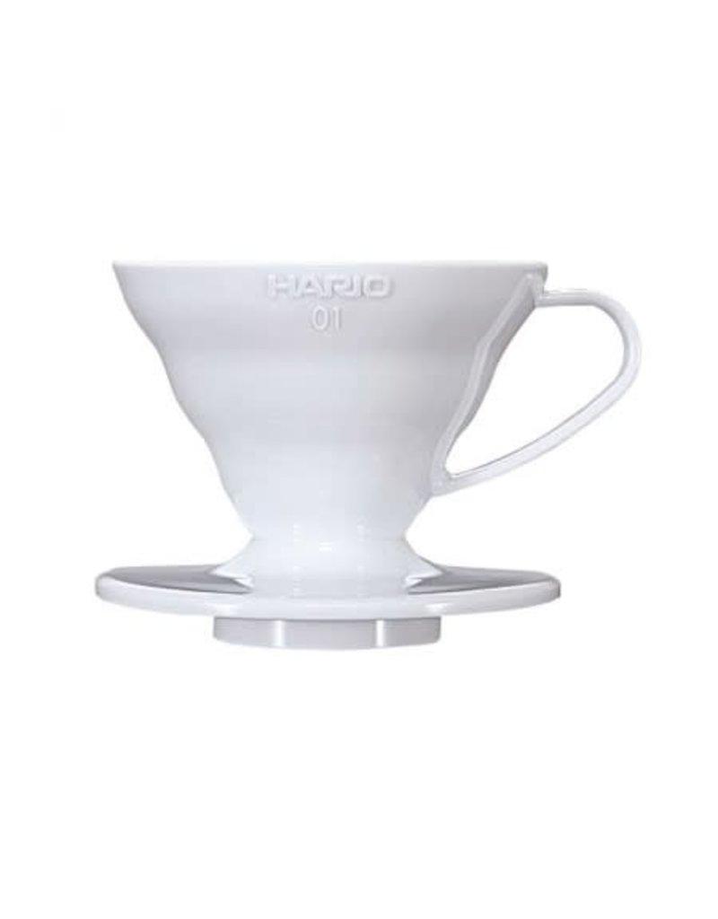 Hario Hario Pour Over V60-01 White Ceramic