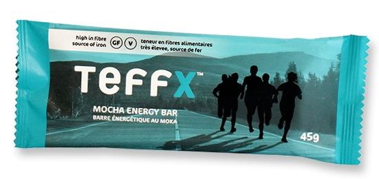 TeffEnergy TeffX Energy Bar - Mocha