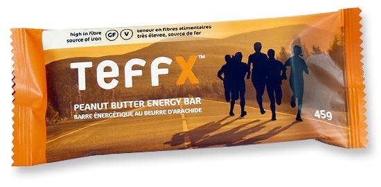 TeffEnergy TeffX Energy Bar - Peanut Butter