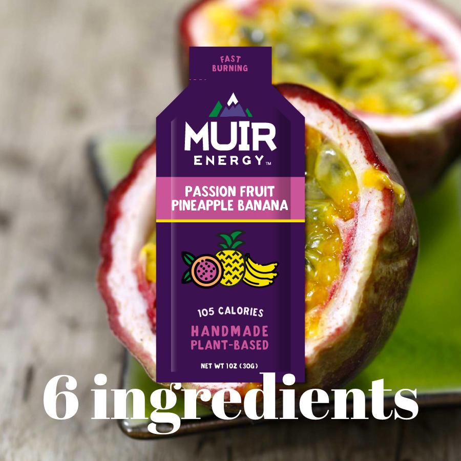 Muir Energy Muir Energy Passionfruit Pineapple Banana