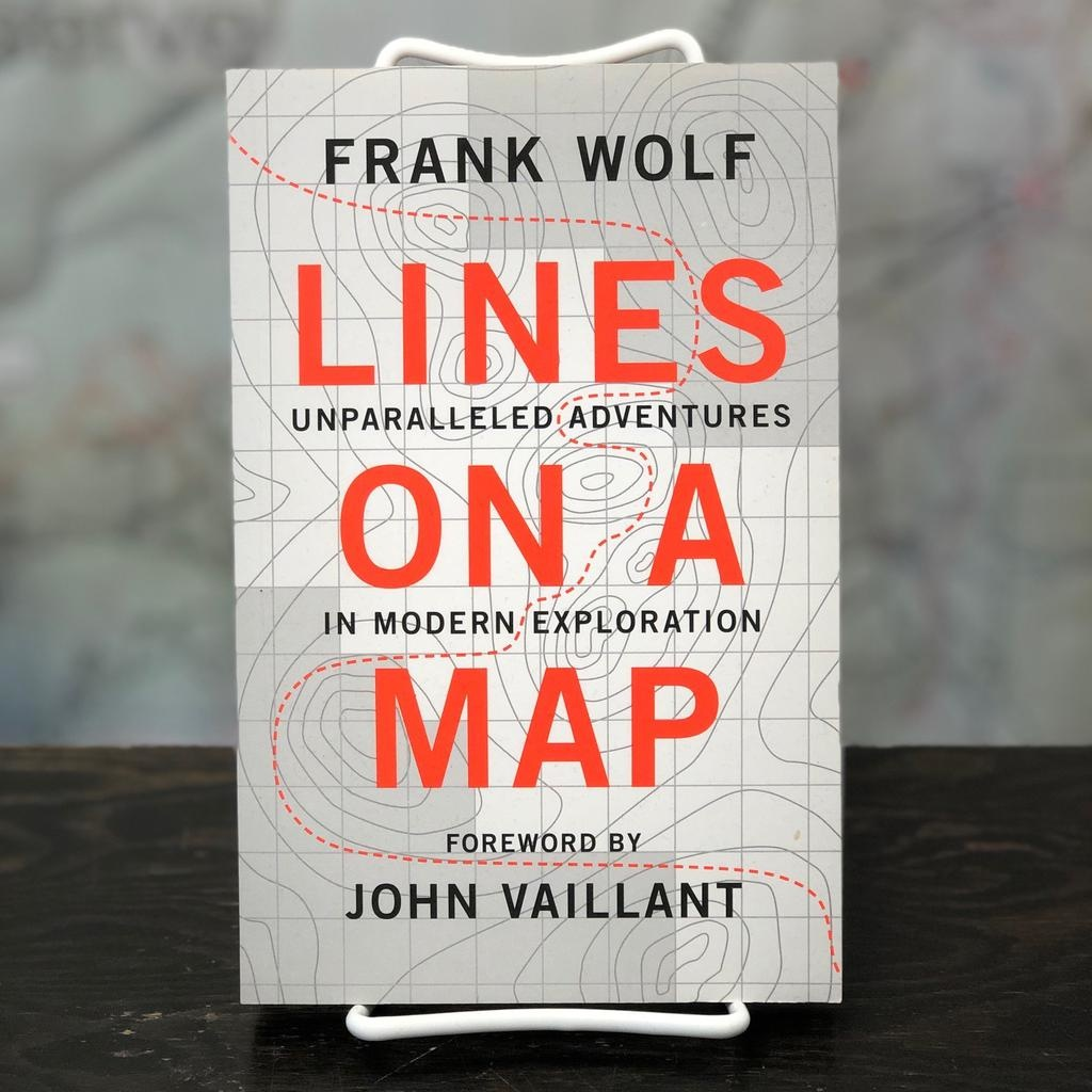 Lines On A Map Book