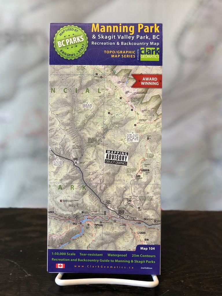Trail Ventures Manning/Skagit Park Map