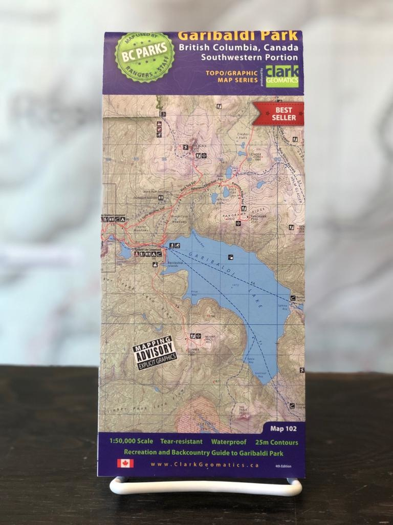Trail Ventures Garibaldi Park Map