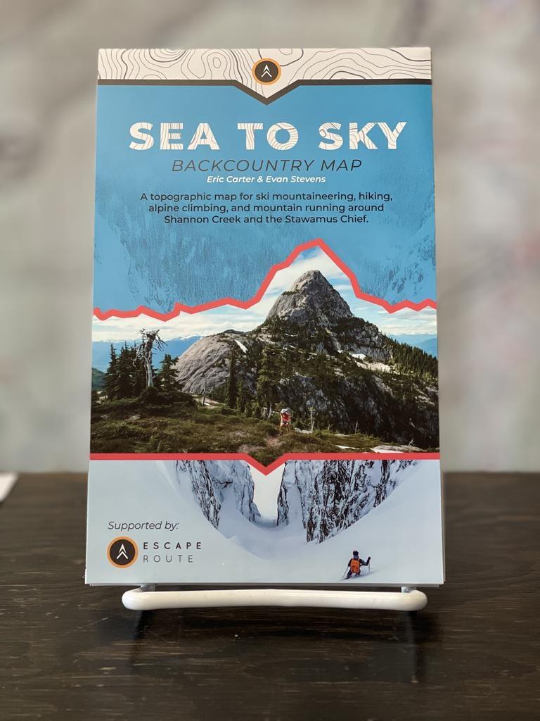 Sea to Sky Backcountry Sea to Sky Backcountry Map