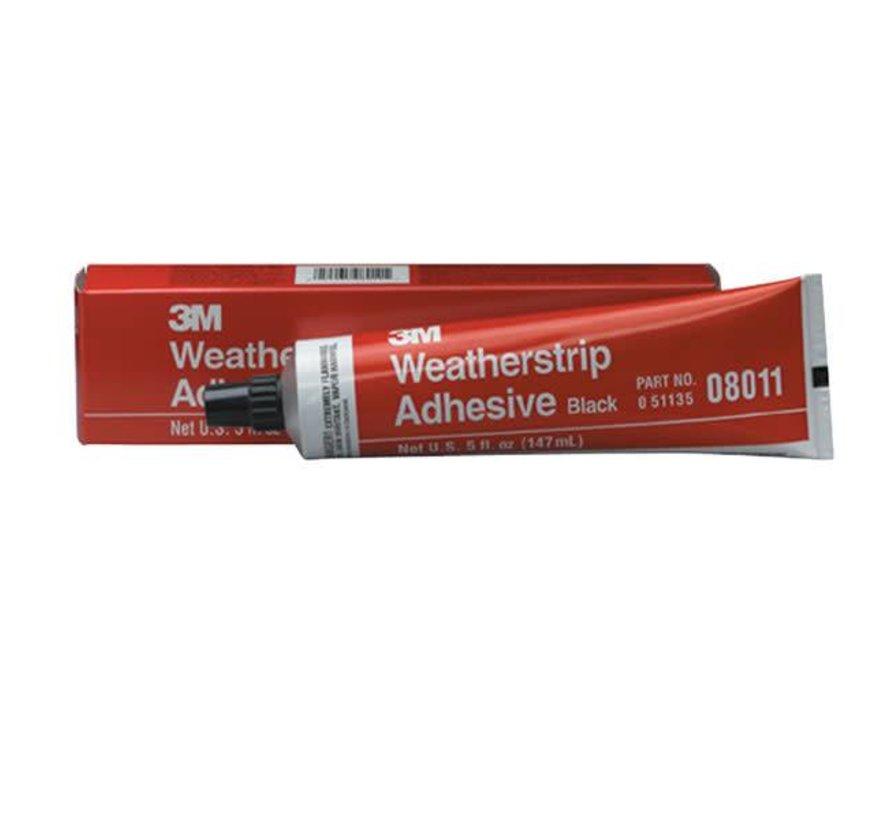 Adhesive-Weatherstrip Bk 5oz