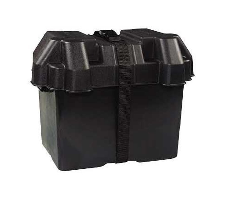 Box-Battery Grp 27 W/Strap