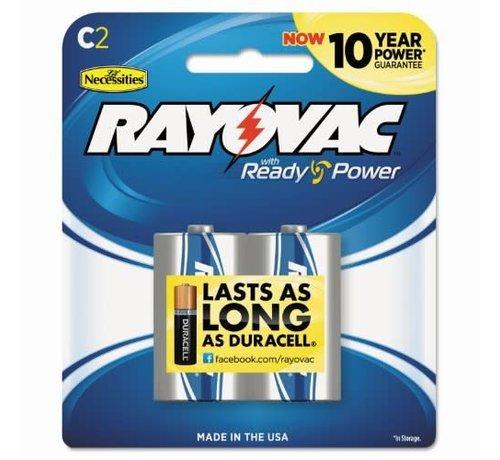 SPECTRUM BRANDS/RAYOVAC Batt-Alkaline Battery-C (2)