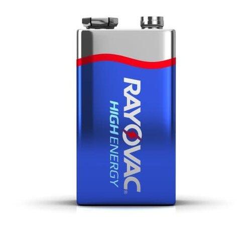 SPECTRUM BRANDS/RAYOVAC Alkaline Battery-9V Snap (1)