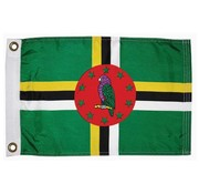 "Taylor Made Products Dominican Courtesy Flag, 12"" x 18"""