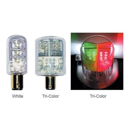 DR. LED Bulb-Dbl Ind LED Rd/Grn 2Nm12V