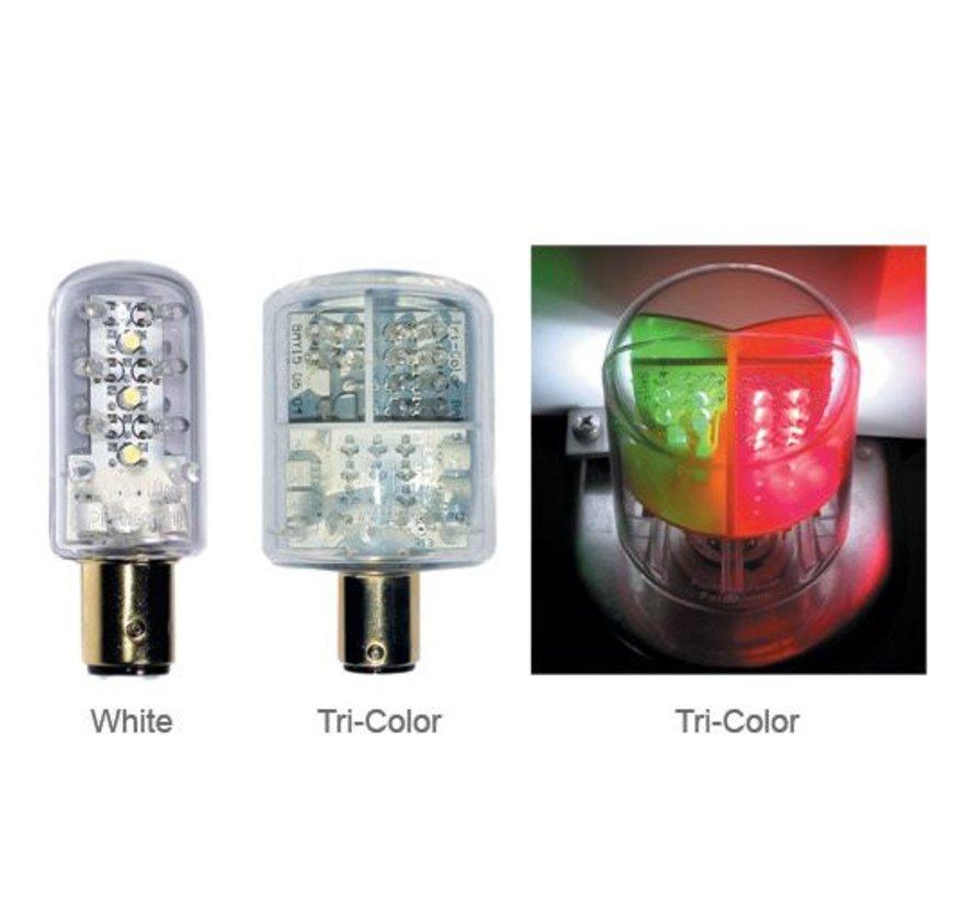Bulb-Dbl Ind LED TriClr 2Nm12V