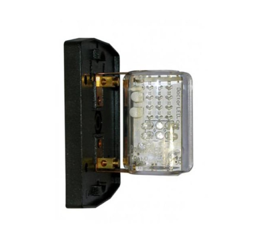 Bulb-DimFest LED Rd/Grn 2Nm12V