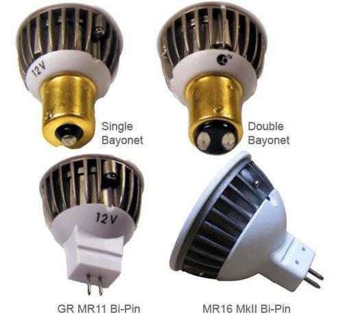 DR. LED Bulb-Dbl Bay LED BAY15D 12V
