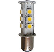 DR. LED Bulb-Dbl Bay LED BA15D Rd 12V