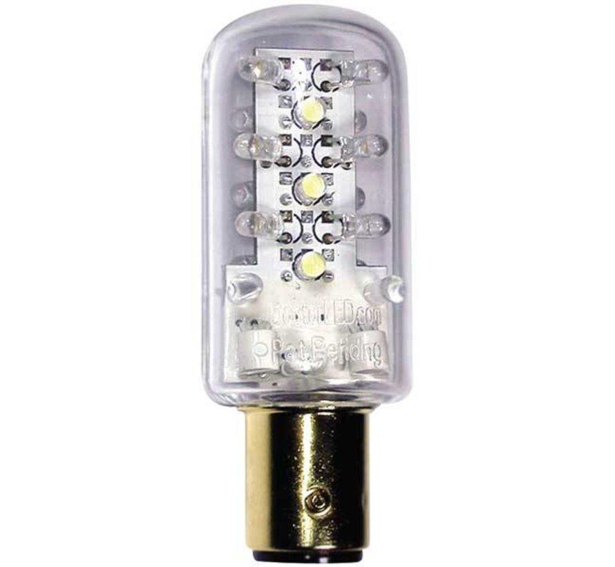 Bulb-Non Ind Dbl LED Grn 12V
