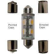 DR. LED Bulb-Fest 39-44mm LED Grn 12V