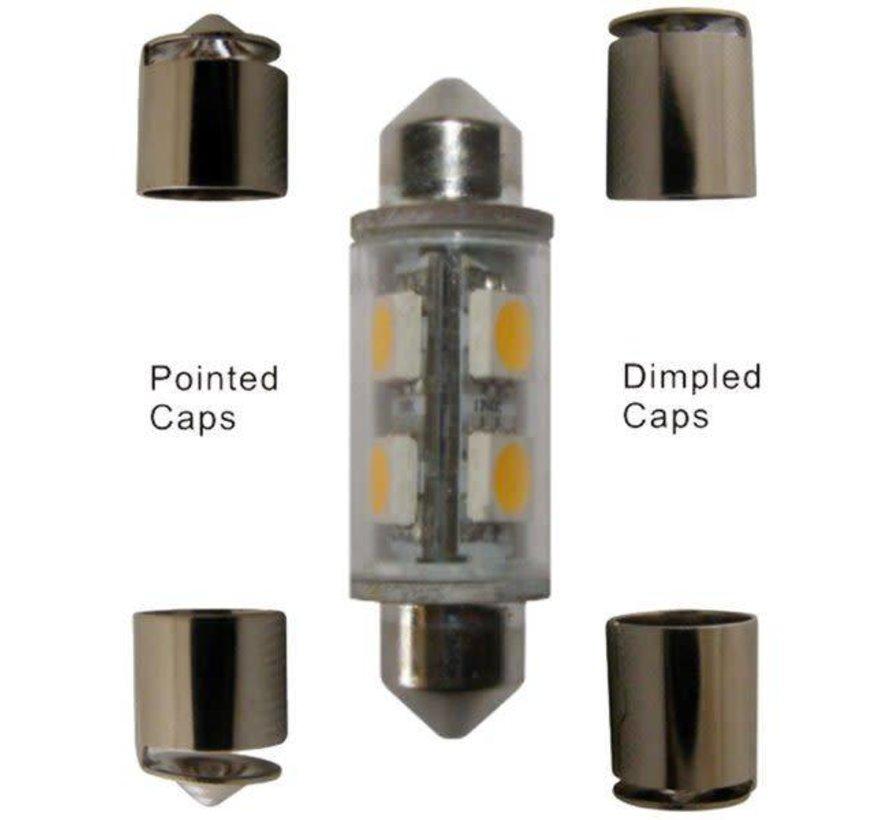 Bulb-Fest 39-44mm LED Grn 12V