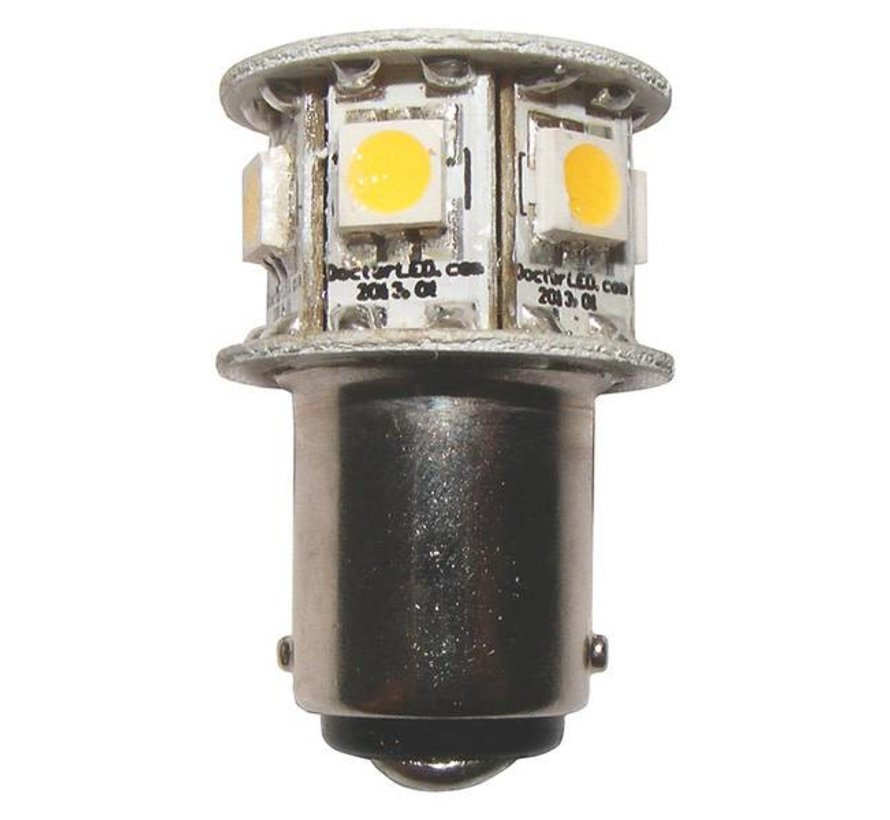 Bulb-2nm GE90 1W BA15D Rd 12V