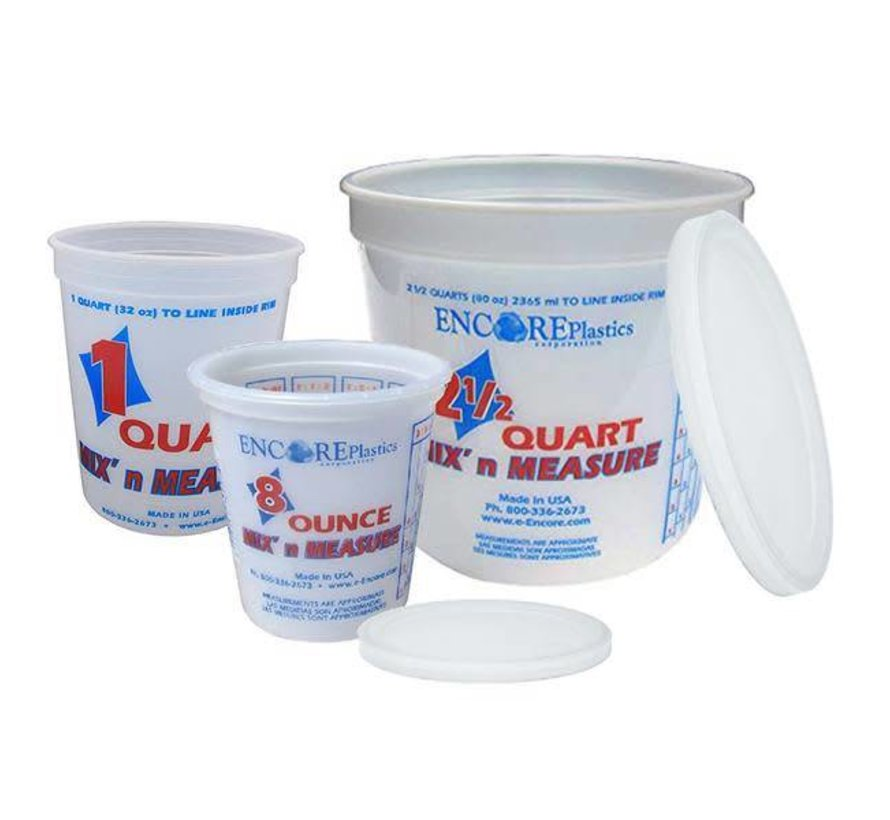 Bucket-Mix&Measure 2-1/2Qt