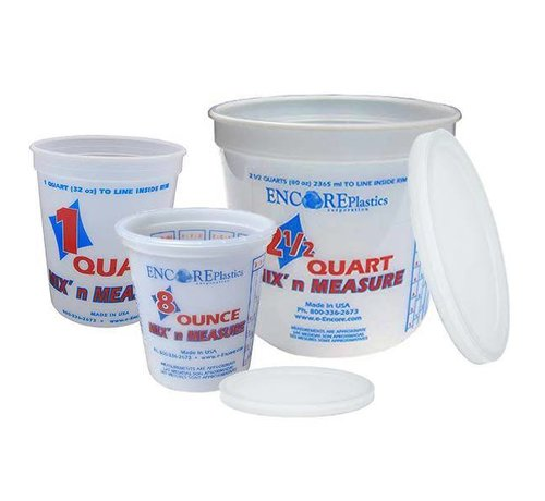 ENCORE PLASTICS Bucket-Mix&Measure 5Qt