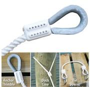 EZ SPLICE, LLC Splice-Rope 5/8in Wh (2)