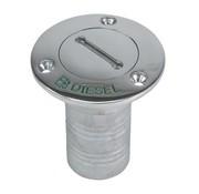 WHITECAP INDUSTRIES, INC. Deckfill-SS Diesel w/key 1-1/2