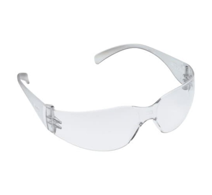 3M Virtua Protective Eyewear Clear (100) single