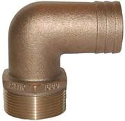 GROSS MECHANICAL LABS Tailpipe-Brz 90D 2-1/2x2/1/2M