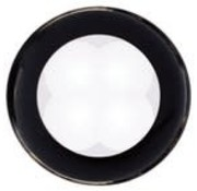 HELLA,INC Lite-Util LED Rnd Wh W/Bk Bez