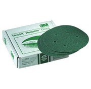 3M Disc-Hookit Grn 60E 6in (25) No Holes Single