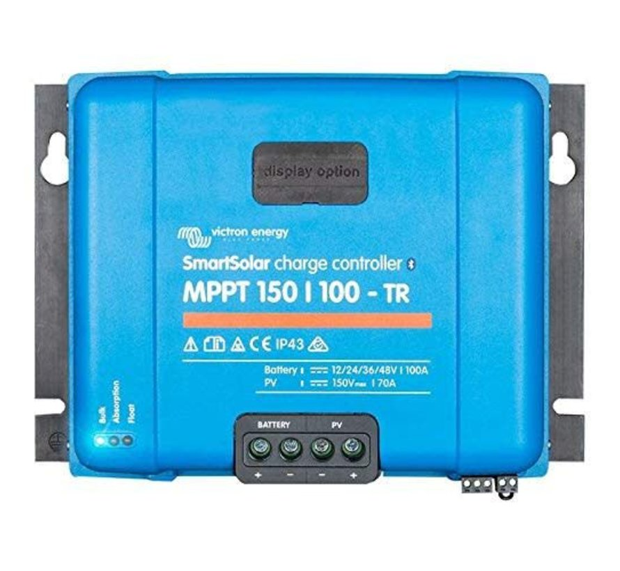NYS Victron MPPT SMART 150/100 12/24/48V-100A TR Solar Charge Controller w Blue Tooth Connect