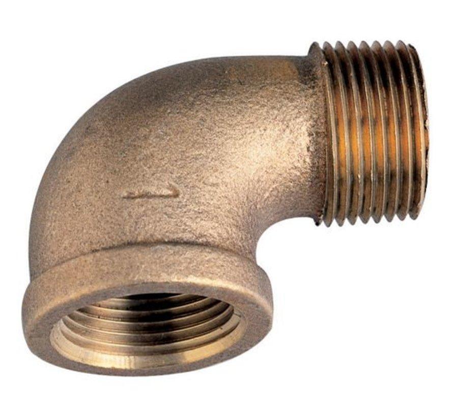 """Bronze 90-Degree Street Elbow, 1"""""""