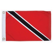 "Taylor Made Products Trinidad Courtesy  Flag 12"" x 18"""