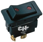 LITTELFUSE COMMERCIAL VEHICLE LLC Switch-Rckr 3Pos 3Blade SPDT