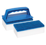 OCEAN ACCESSORIES LLC Sponge Eraser Wipeout 2pk w/handle