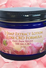 Rose High CBD Lotion