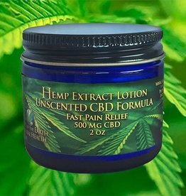 Unscented High CBD Lotion