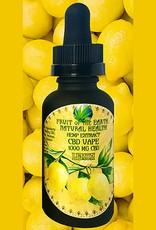 1000 MG CBD Vape Oil Lemon