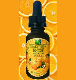 1000 MG CBD Vape Oil Orange
