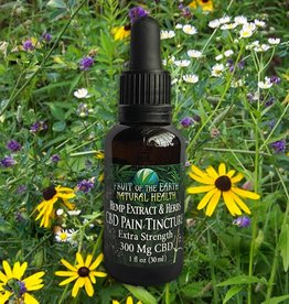 Extra Strength Pain Tincture, 300 mg CBD