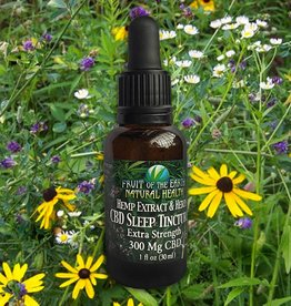 Extra Strength Sleep Tincture, 300 mg CBD
