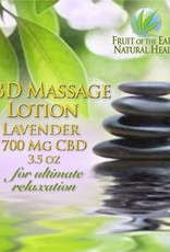 Lavender CBD Massage Lotion