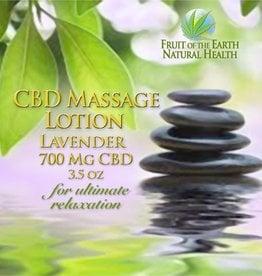 Lavender CBD Massage Lotion
