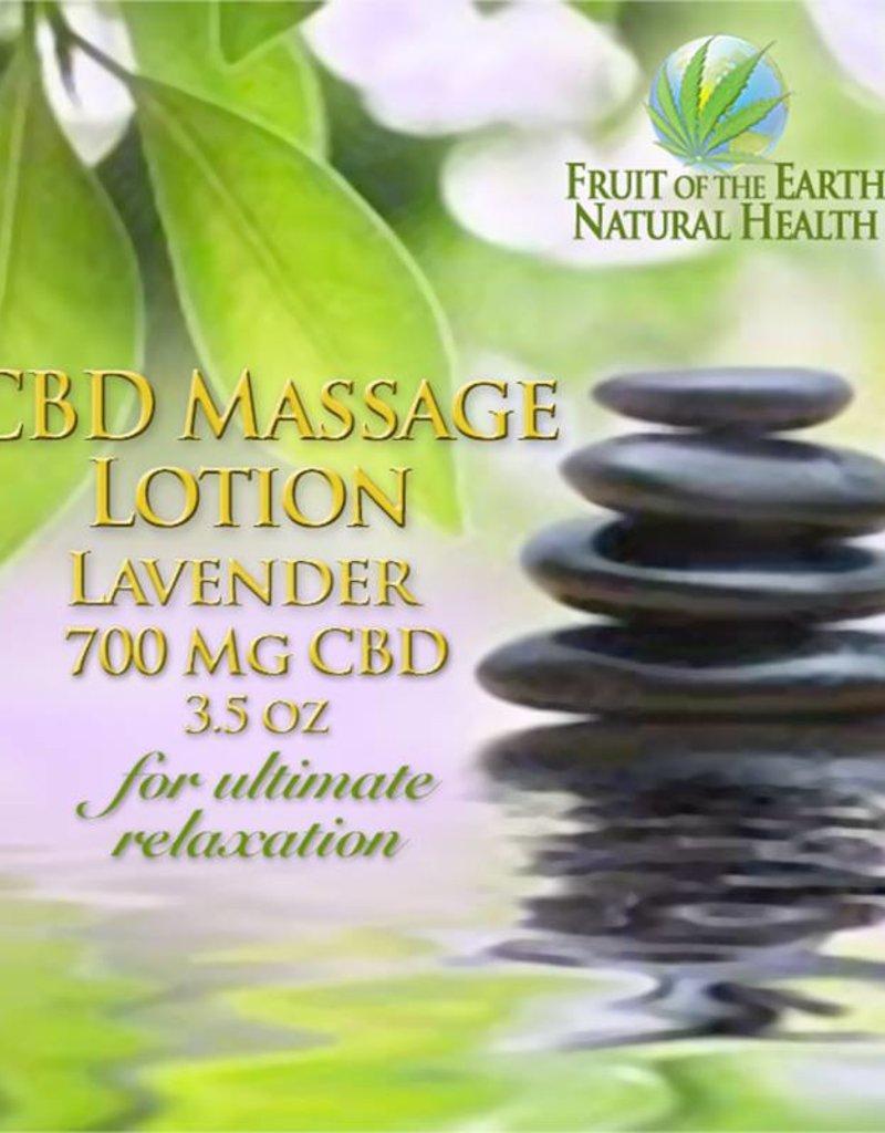 CBD Massage Lotion, 700 mg CBD, 3.5 oz., Lavender