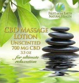 CBD Massage Lotion, 700 mg CBD, 3.5 oz., Unscented