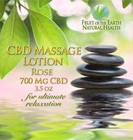 CBD Massage Lotion, 700 mg CBD, 3.5 oz., Rose