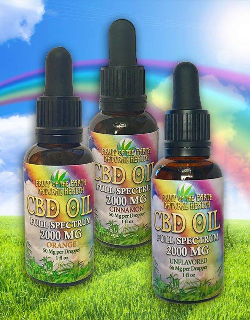2000mg Full Spectrum CBD Oil