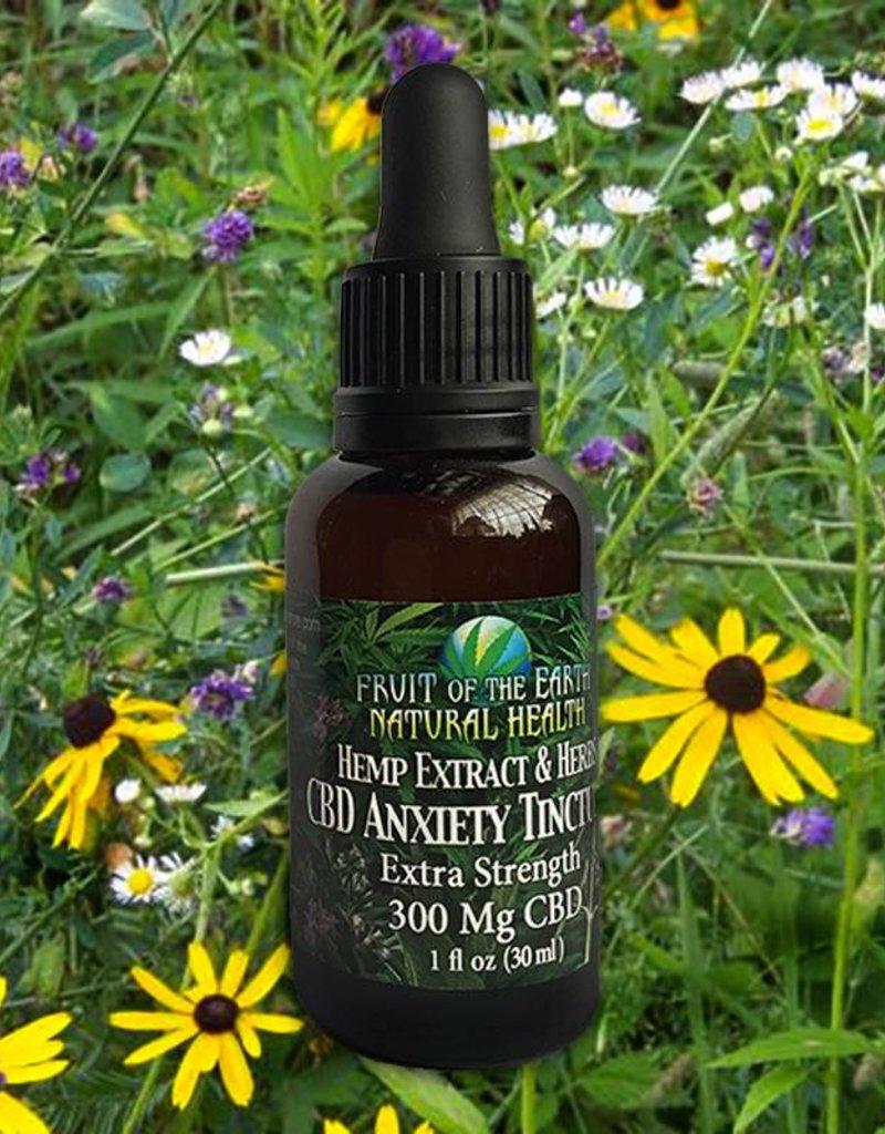 Extra Strength Anti Anxiety Tincture, 300mg. CBD