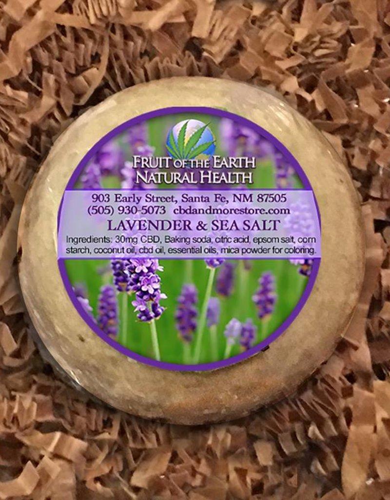 Fruit of the Earth Bath Bomb 30mg Full Spectrum CBD- Lavender