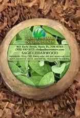 Fruit of the Earth Bath Bomb 30mg Full Spectrum CBD - Clary Sage & Cedarwood